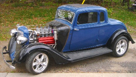 Early Hemi Projects 1934 Plymouth Pf Rumble Seat Coupe